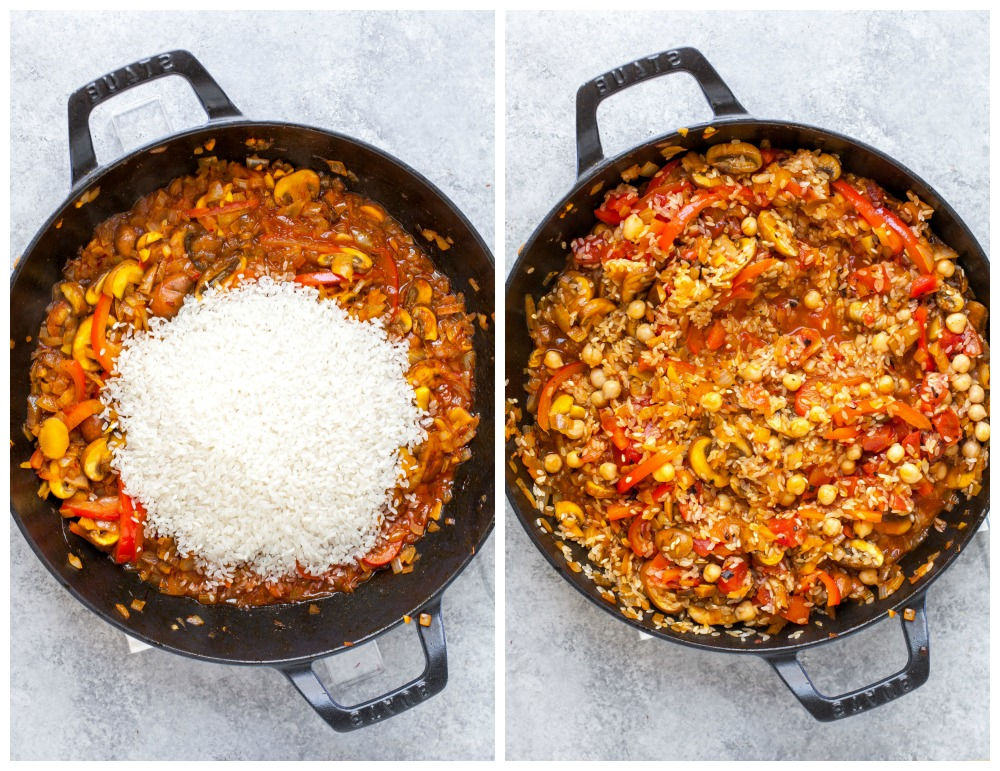 Step-by-Step process on how to make Paella