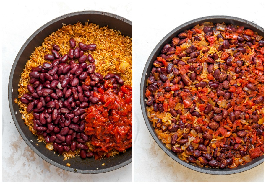 Spanish Rice And Beans One Pot Dishing Out Health