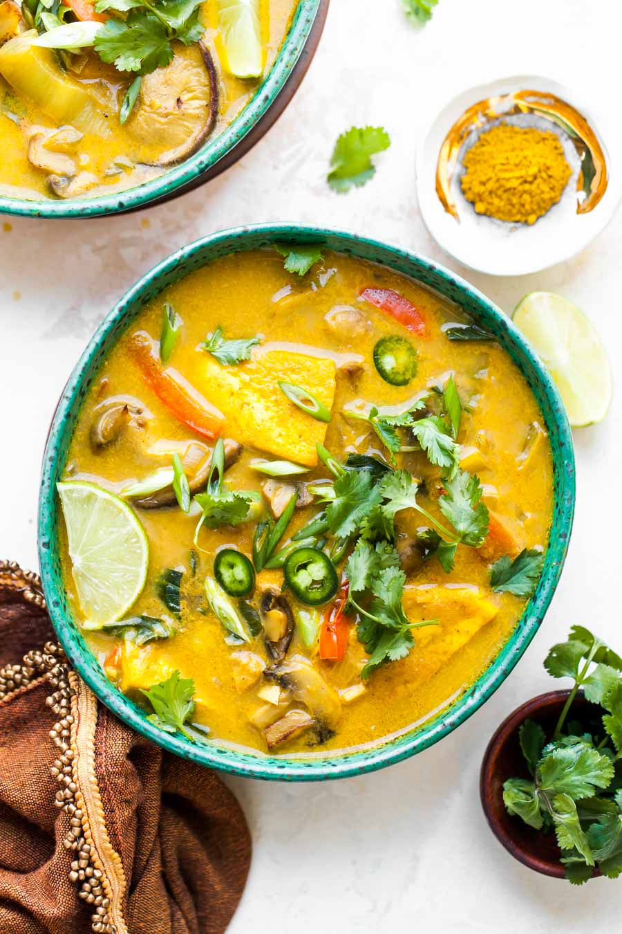 Thai Lemongrass Soup with Tofu