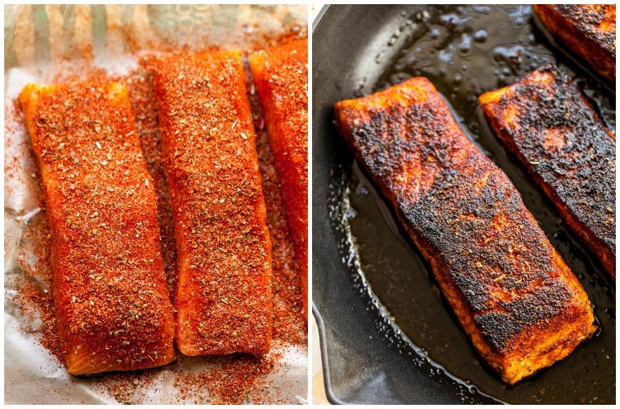 Homemade blackening seasoning for fish