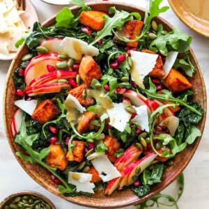Autumn Salad with Maple Vinaigrette