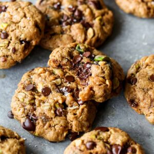 Healthy Trail Mix Energy Cookies
