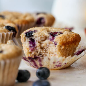 The Best Vegan Blueberry Muffins