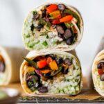 The Ultimate Vegetarian Burritos (Freezer-Friendly)